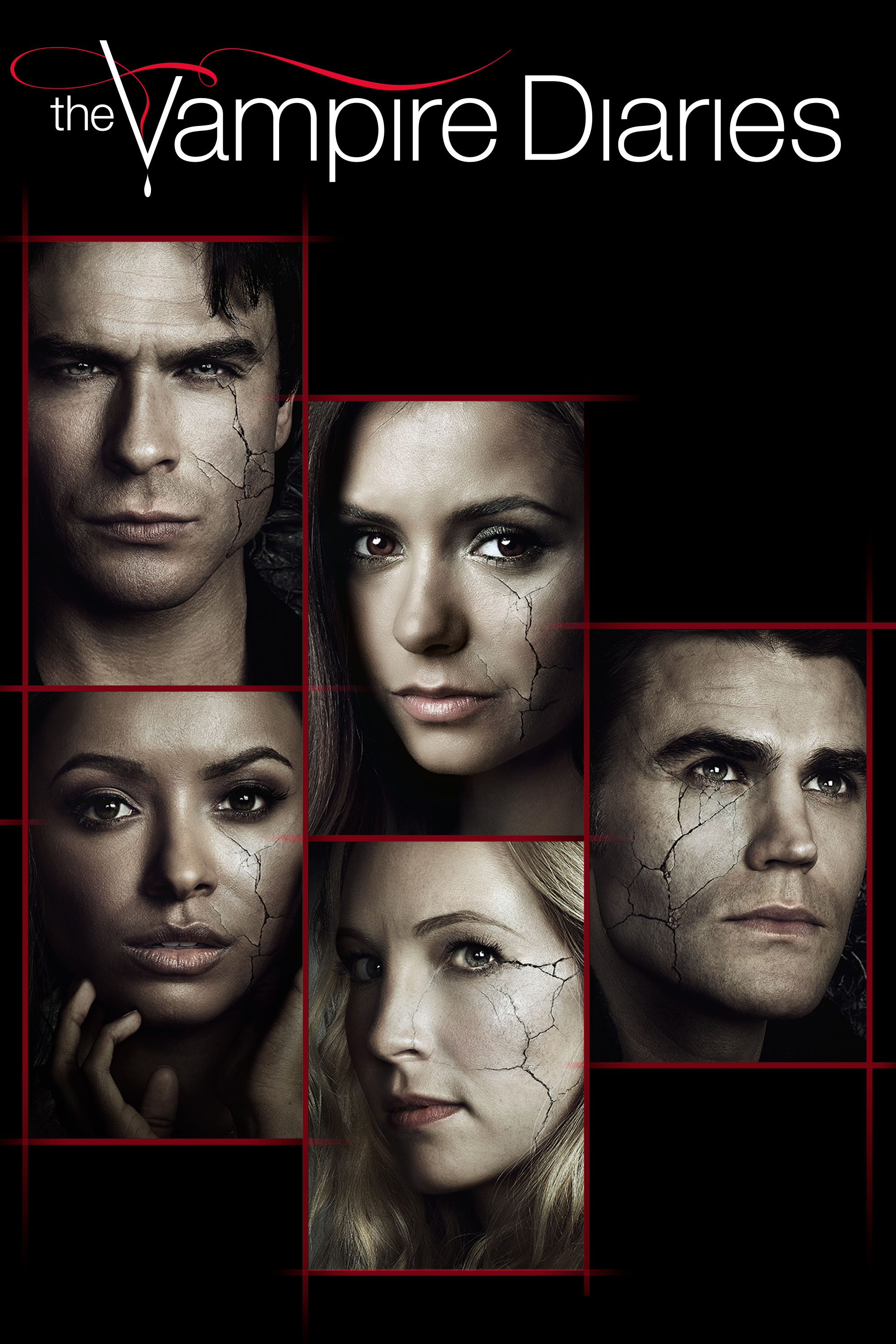 "cover design for ""The Vampire Diaries"""