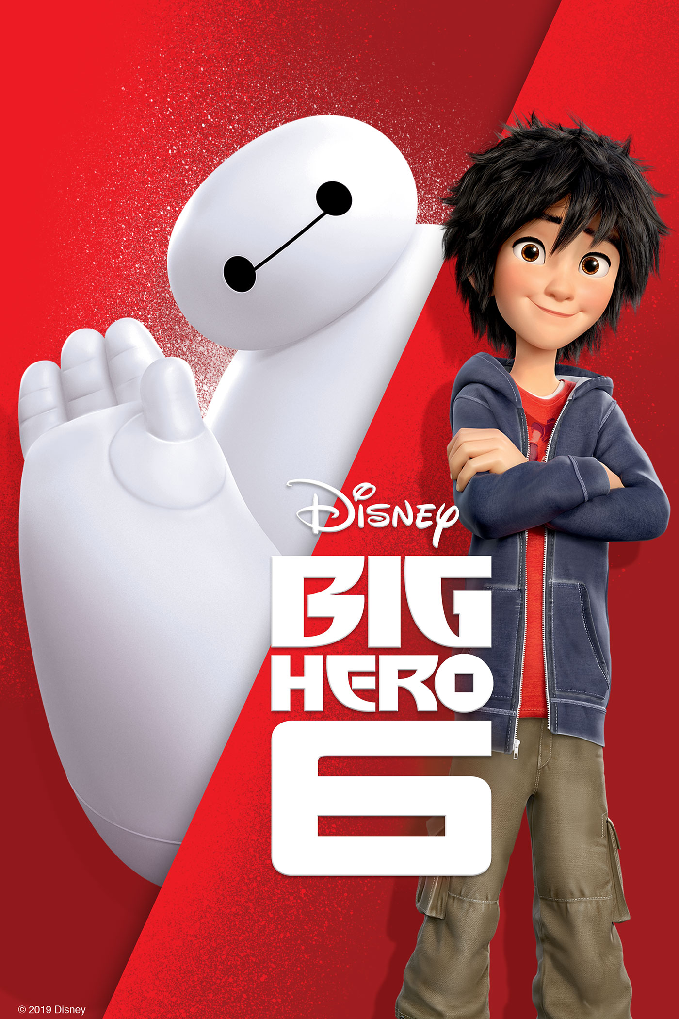 "cover design for ""Big Hero 6"""