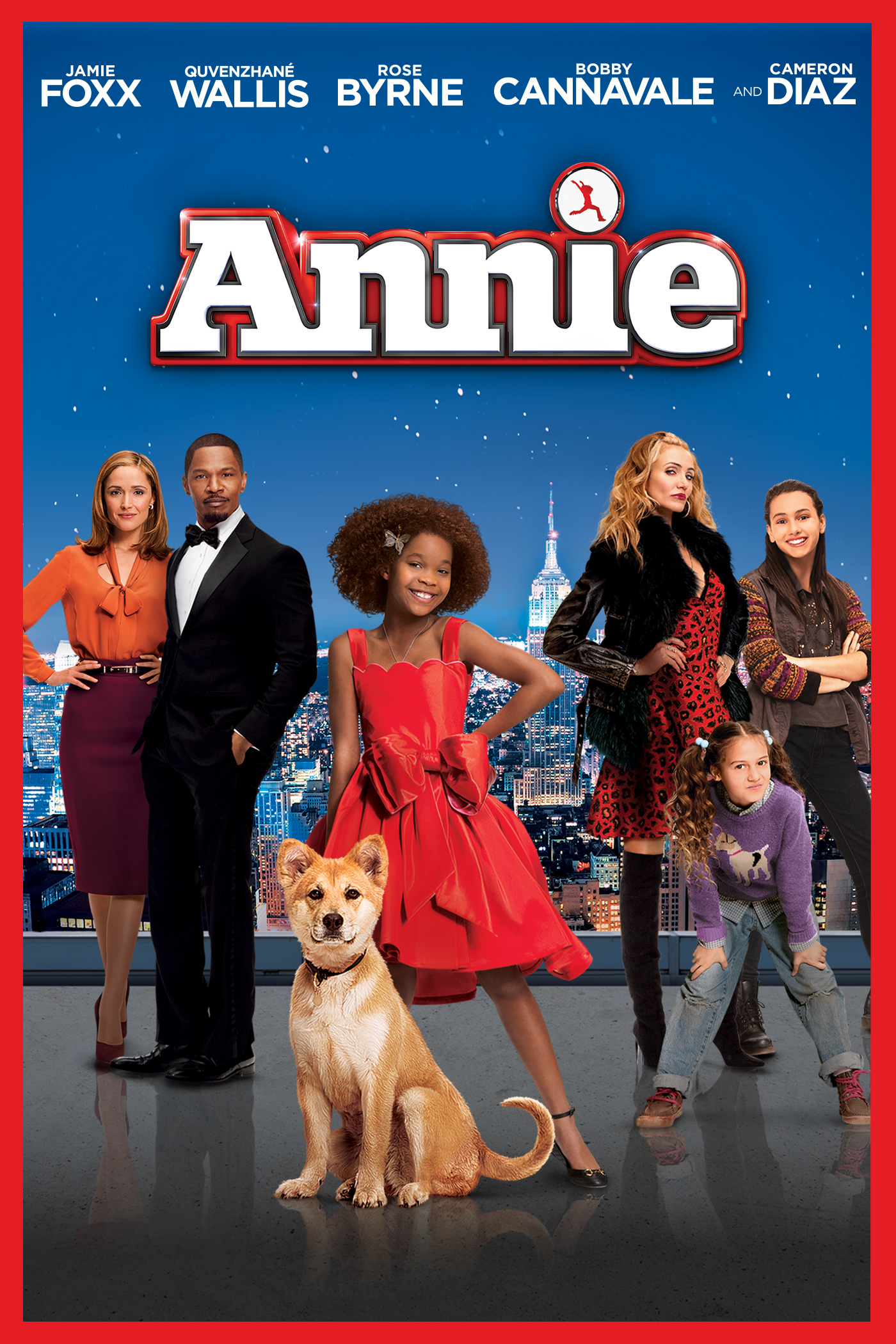 "cover design for ""Annie"""
