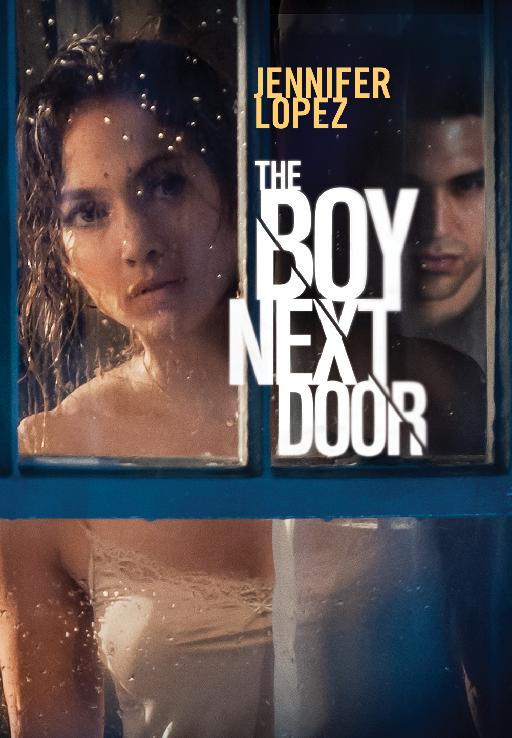 "cover design for ""The Boy Next Door"""