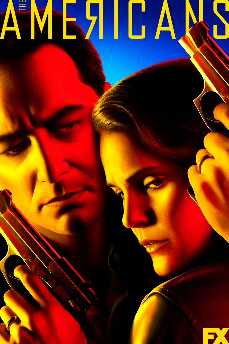 "cover design for ""The Americans"""