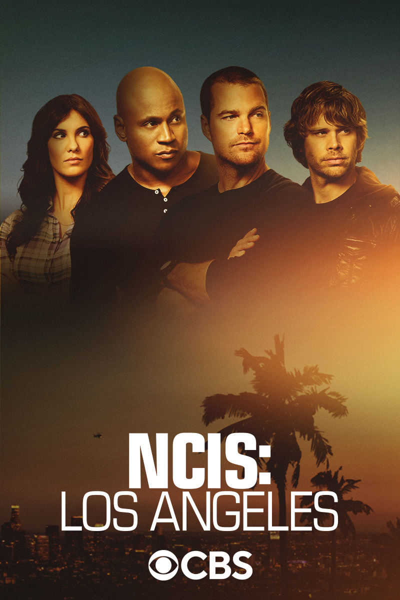 "cover design for ""NCIS: Los Angeles"""