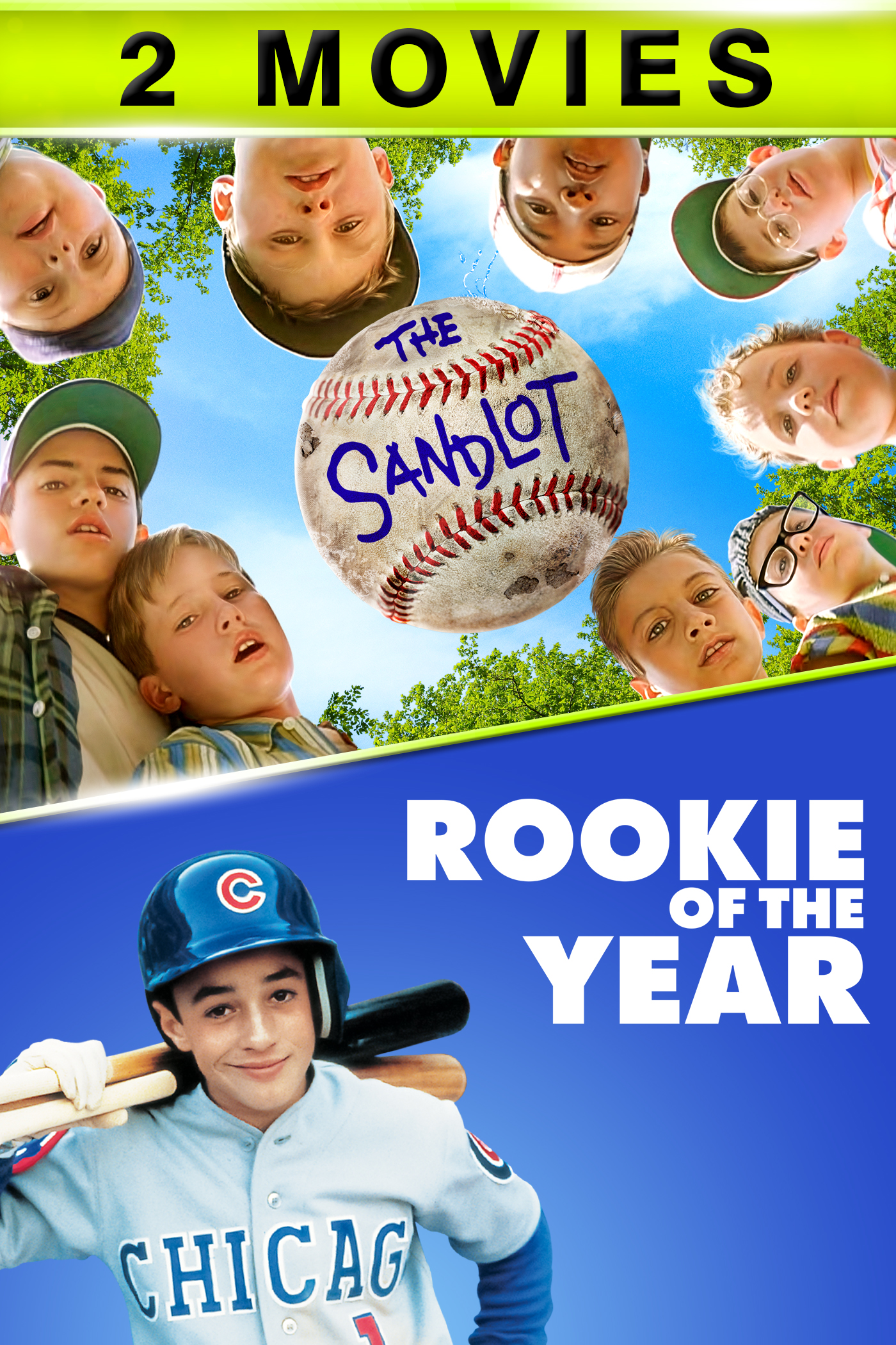 Rookie Of The Year Sandlot 2 Movie Bundle Buy Rent Or Watch On