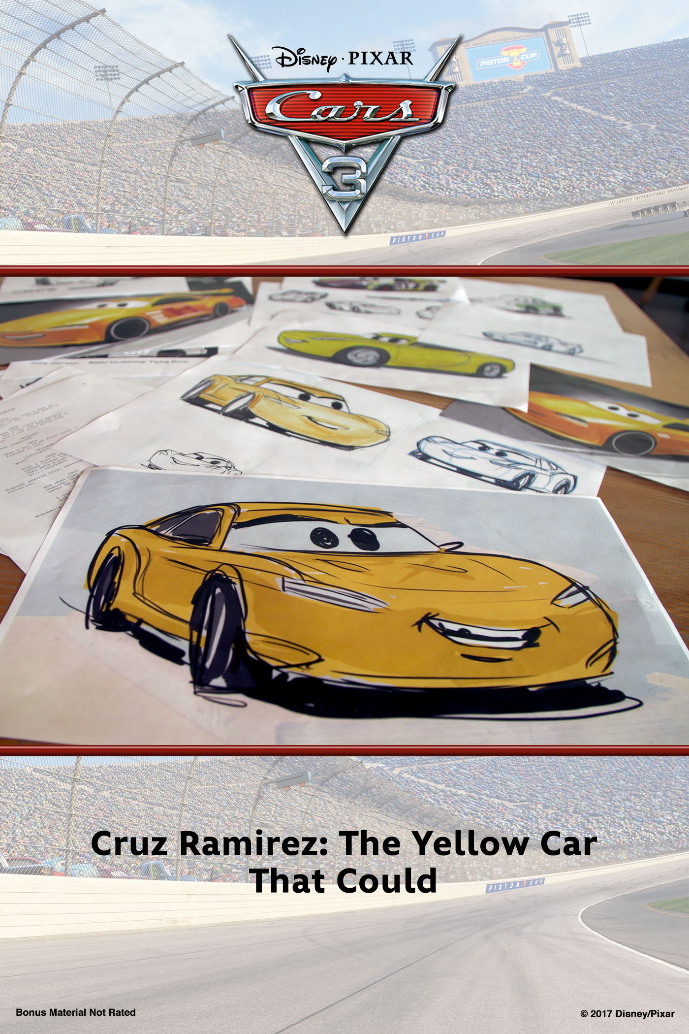 Cruz Ramirez: The Yellow Car That Could
